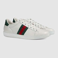 GUCCI Women's Ace leather sneaker
