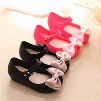 New Mini Melissa Baby Girl Jelly Sandals Bow