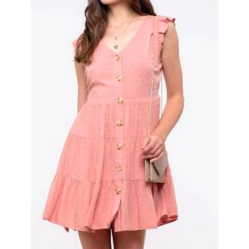 Abigail Dress | Pink
