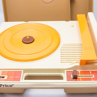 Vintage 1978 Fisher-Price Kids Record Player