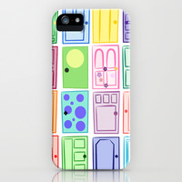 Monster's Inc. Doors iPhone & iPod Case by An Luong