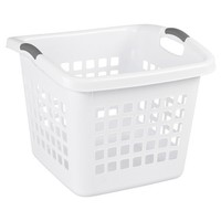 Sterilite® 1.75 Bu. Square Laundry Basket – Black