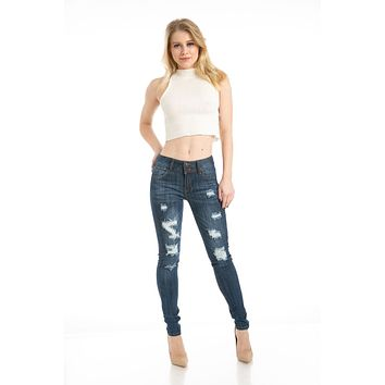 Sweet Look Premium Edition Women's Jeans - Skinny - Style CH190H-R