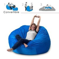 Amazon.com: Corda Roy's Queen Size Convertible Foam Bean Bag Bed in Corduroy Color-Material - Other Fabrics: Home & Kitchen