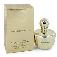 Something Gold by Oscar De La Renta Eau De Parfum Spray 3.4 oz for Women