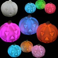 Fad Led Colorful Pumpkin Light Halloween Party Decoration Table Lamp = 1946397572