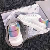 ALEXANDER MCQUEEN New Inner Heightened Sponge Sneakers Shoes