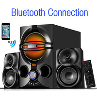 Roll over image to zoom in Boytone BT-324F, 2.1 Bluetooth powerful home theater spea