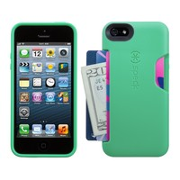 Speck Products SmartFlex Card Case for iPhone 5 & 5S  - Malachite Green