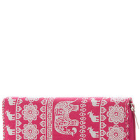 Elephant Dream Wallet- Pink
