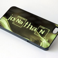 iPhone 6 Case, Personalized Phone Case, iPhone 5 Case, Breaking Bad Font, Gift for Him, Samsung Galaxy S4 Case, Galaxy S6 Case