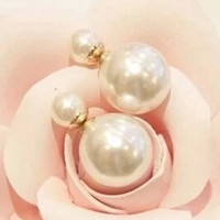 Korean Delicate Pearl Earrings