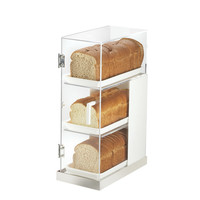 Cal-Mil Luxe 3 Tier Bread Box Frost Display & Reviews   Wayfair