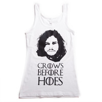 Crows Before Hoes Tank