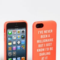 kate spade new york 'millionaire quote' iPhone 5 case | Nordstrom