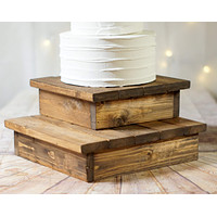 """Cake Stand Set of 2,  10"""" and 12"""""""