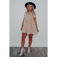 Year Round Love Dress: Beige