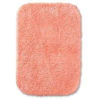 "Room Essentials™ Bath Mat - Georgia Peach (17x24"")"