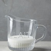 French Table Creamer by Anthropologie in Clear Size: Creamer Serveware