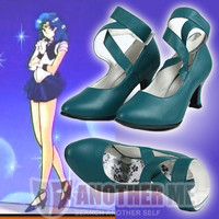 Another Me™ Sailor Moon Sailor Neptune Cosplay Fancy Dress Ball Fashion Shoe