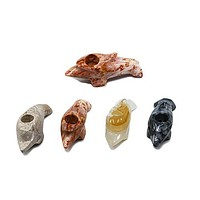 Onyx Hand Pipe - Dolphin