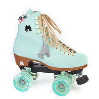Moxi - Lolly Roller Skates - Floss - Teal Suede