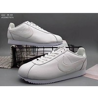 Nike winter CORTEZ Forrest sports couple running shoes F-A36H-MY White