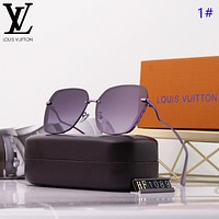 LV New fashion polarized sun protection travel glasses eyeglasses women 1#