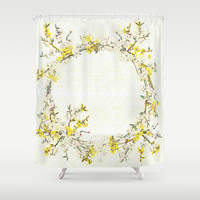 Natsukashii - for Spring Shower Curtain by anipani