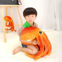 "1# 50cm/20"" Paul the octopus Plush Stuffed Animal Doll Toy Novel Gift = 1697624324"