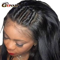 Lace Front Human Hair With Baby Hair Peruvian Straight