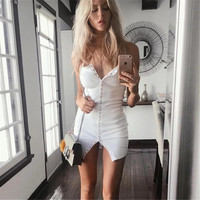 Slim Skirt Summer One Piece Dress [11135560719]
