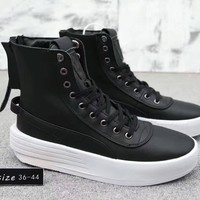 """""""Puma XO Parallel x The Weeknd"""" Unisex Simple Casual Fashion Zip High Help Boots Plate Shoes Couple Thick Bottom Sneakers"""