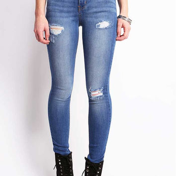Perfect Fit High Waist Skinny Jeans