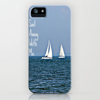 sail away with me iPhone Case by kenzienphotography | Society6