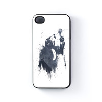 Wolf Song 3 Black Hard Plastic Case for Apple iPhone 4 / 4s by Balazs Solti