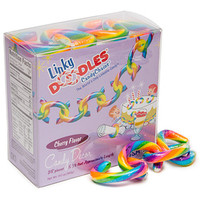Linky Doodles Candy Chains - Rainbow: 28-Piece Box