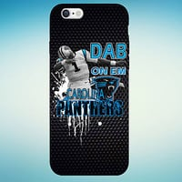 Cam Newton Case Keep Dab On Em Carolina Panthers Case For iPhone and Samsung