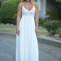 Ancient Rome Dress- Ivory