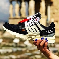 OFF-WHITE x NIKE Air Presto New fashion sports leisure running shoes