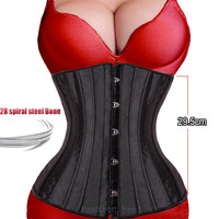 QUALITY SHARPER UNDER BUST LACE-UP CORSET