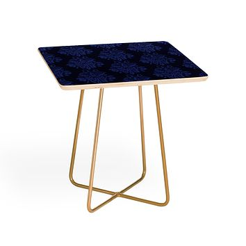 Morgan Kendall blue lace Side Table