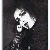 Siouxsie Sioux Art Print on Canvas or Poster
