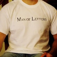 Supernatural Man Of Letters T-Shirt. Unisex Sizing. from Evangelina's Closet