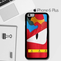 Fendi Red Monster Eyes E1102 iPhone 6 Plus / 6S Plus Case