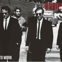 Reservoir Dogs Let's Go to Work Poster 24x36