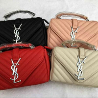 YVES SAINT LAURENT COWHIDE CASSANDRE BAGS YSL_BAG