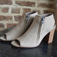 Taupe Sancia Bootie