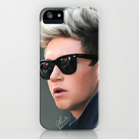 Niall Portrait iPhone & iPod Case by pygmy