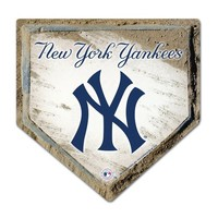 MLB Yankees Home Plate Design Mouse Pad